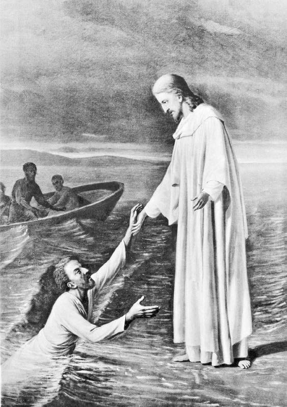 В. Д. Фартусов. Спасение апостола Петра